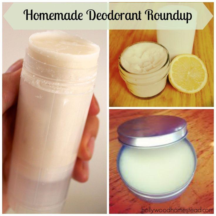 Homemade deodorant round up of recipes diy bath and body pinterest - Homemade deodorant recipes ...