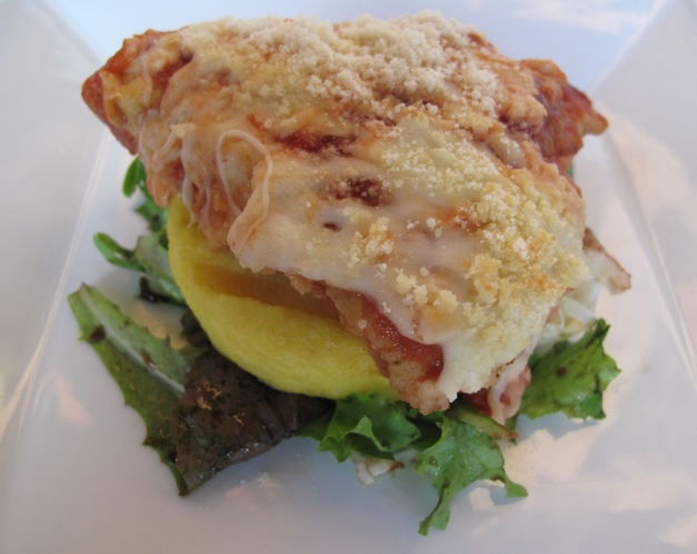 Chicken Parmesan with Grilled Polenta | Recipe