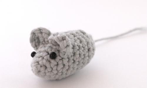 Raton de amigurumi de Lanas y ovillos Ganchillo-Crochet ...