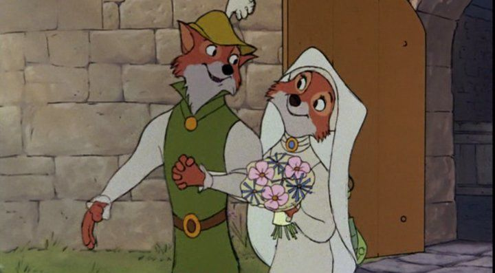 """It appears that I now have an outlaw for an in-law."" - King Richard from Robin Hood"