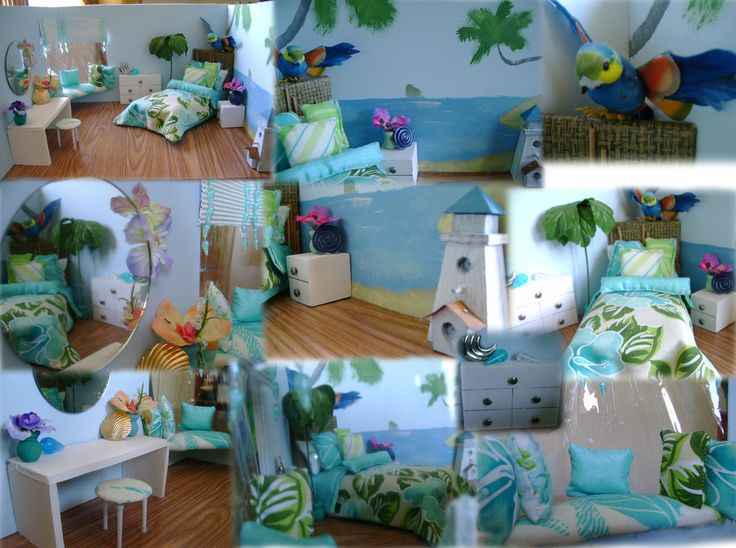 Girls beach bedroom bing images claire 39 s room makover for Beach themed rooms for girls