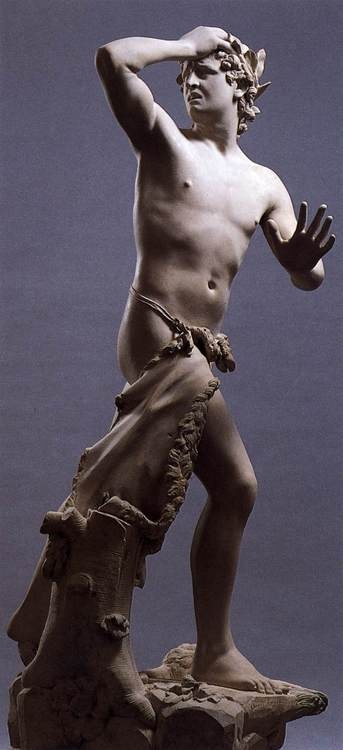 Antonio Canova, Orpheus, 1776. Museo Correr, Venice. ( He kinda looks drunk and confused LOL)