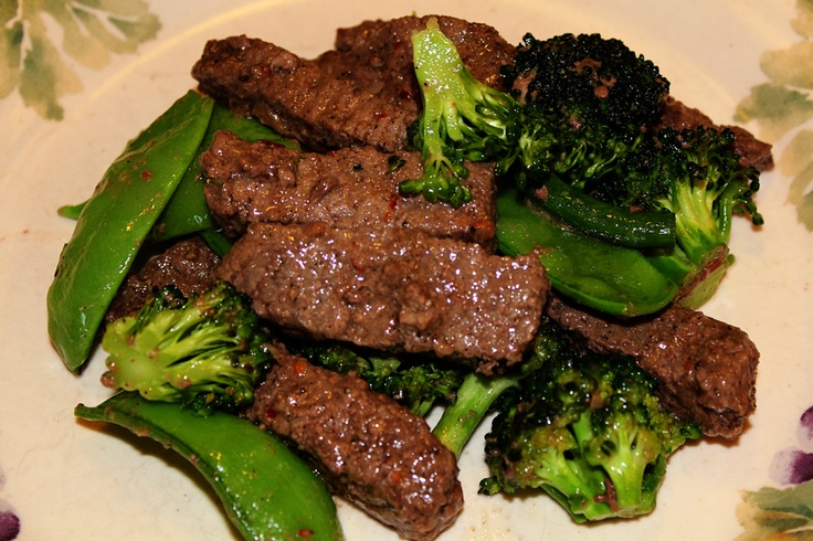 Garlic Beef, Broccoli & Cauliflower Stir Fry Recipe — Dishmaps