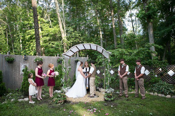 Diy Wedding In Backyard : Shaina and Stanley?s Backyard DIY Wedding By MCMD Photography