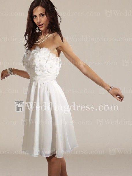Simple Short Wedding Dresses For The Beach : Simple short wedding dresses beach bridal gowns