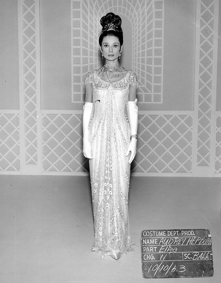 Audrey Hepburn My Fair Lady Ball Gown - auction | The Fabulous ...