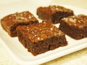 Sweet and Salty Brownies | Favorite Recipes | Pinterest
