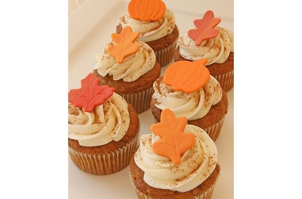 ... Food News | Pumpkin Spice Cupcakes With Cinnamon Cream Cheese Frosting
