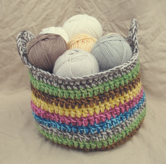 Crochet Basket : Crochet Baskets