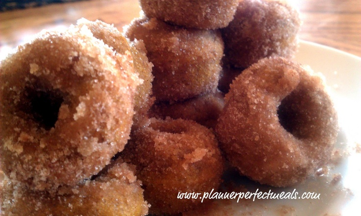 pumpkin spice donuts | Recipes ppm | Pinterest