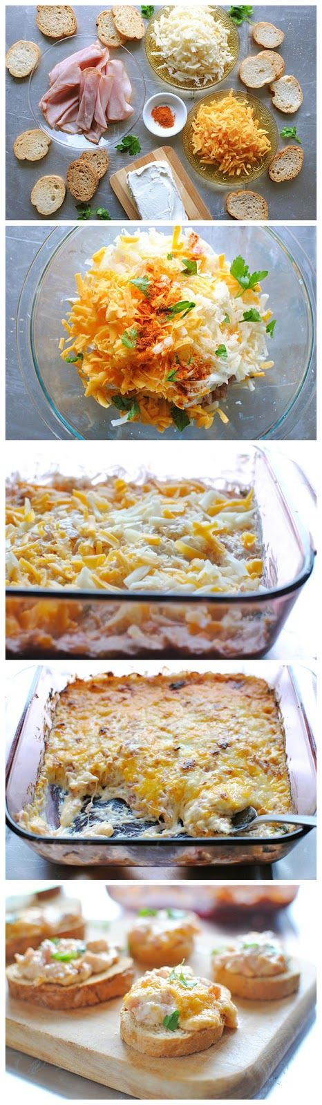 Hot Ham and Cheese Dip | FOOD! | Pinterest