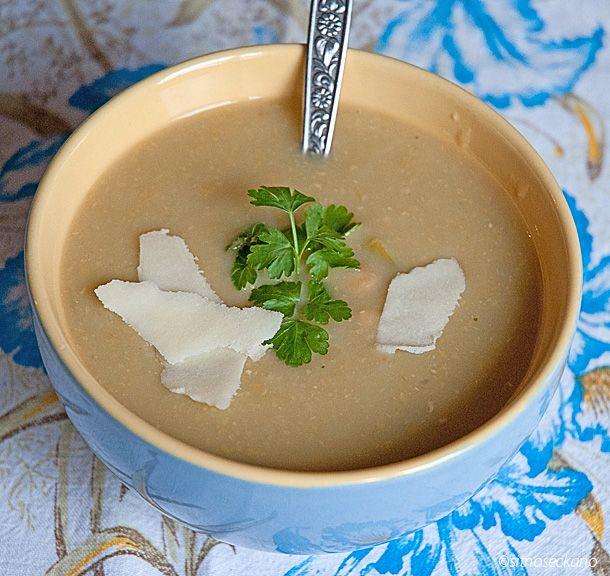 Chickpea & Leek Soup | FOOD | Pinterest