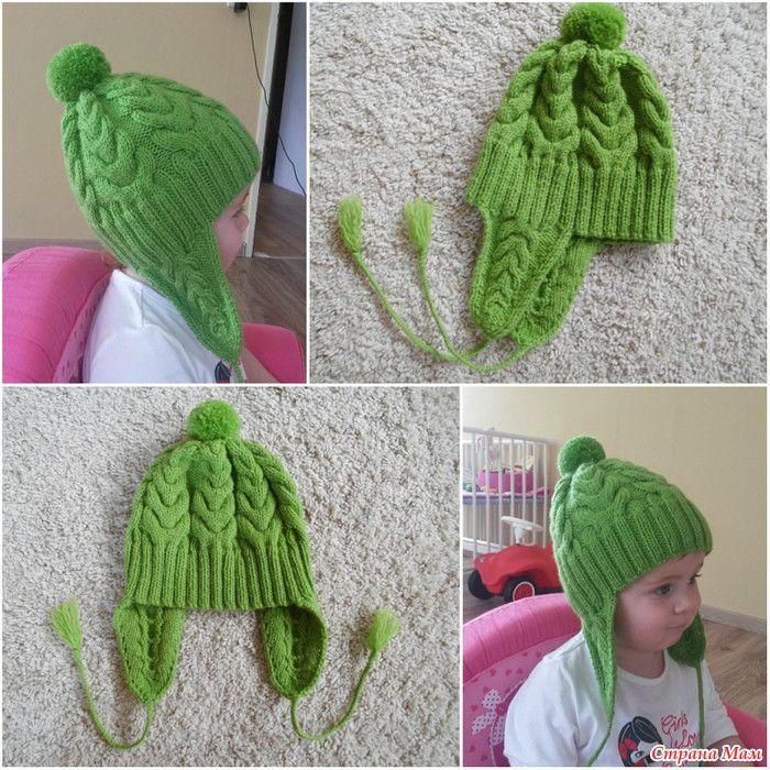 Страна мама вязание спицами шапок 44