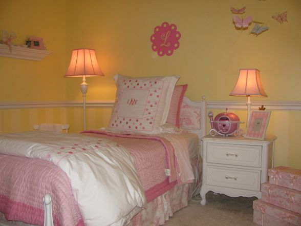 Pink And Yellow Girls 39 Bedroom Beautiful Yellow Bedrooms