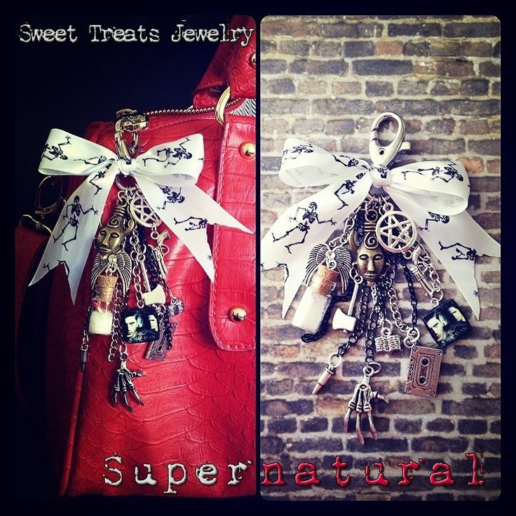 Supernatural purse bling~ By Sweet Treats Jewelry~
