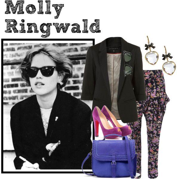 Molly Ringwald 80's Inspiration