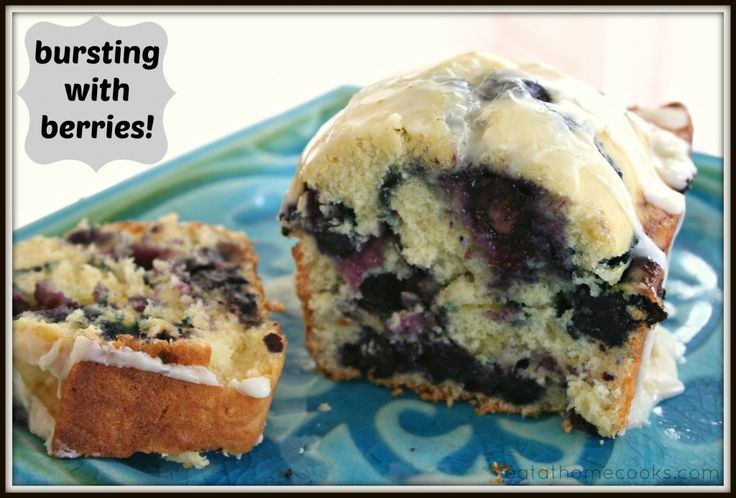 Sunny Blueberry Orange Bread - Eat at Home