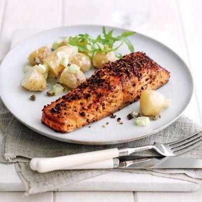 Fragrant tea-smoked salmon | Recipe