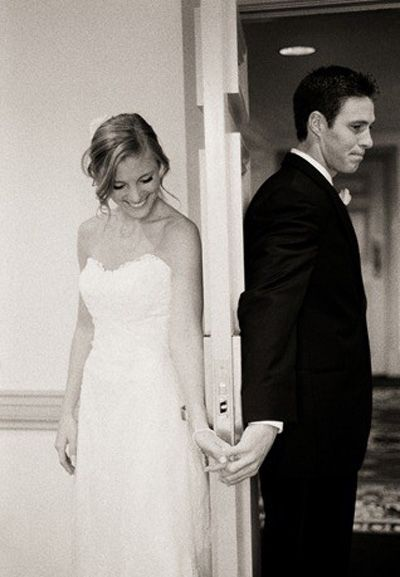 """Love it!  Perfect opportunity for us to pray together before we say """"I do""""! <3"""