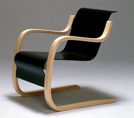 Alvar aalto armchair n 31 chaises pinterest for Chaise alvar aalto
