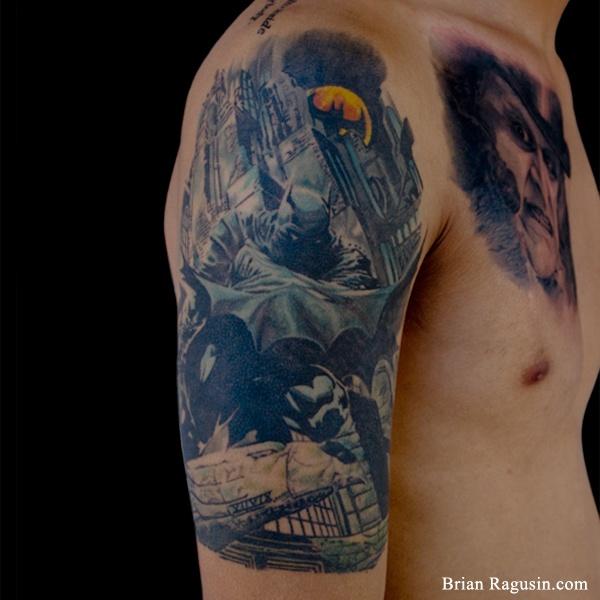 Batman Sleeve Tattoo Inspirational Arm Tattoos