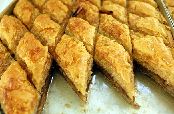 Simple Baklava Recipe on Jspace Food | desserts | Pinterest
