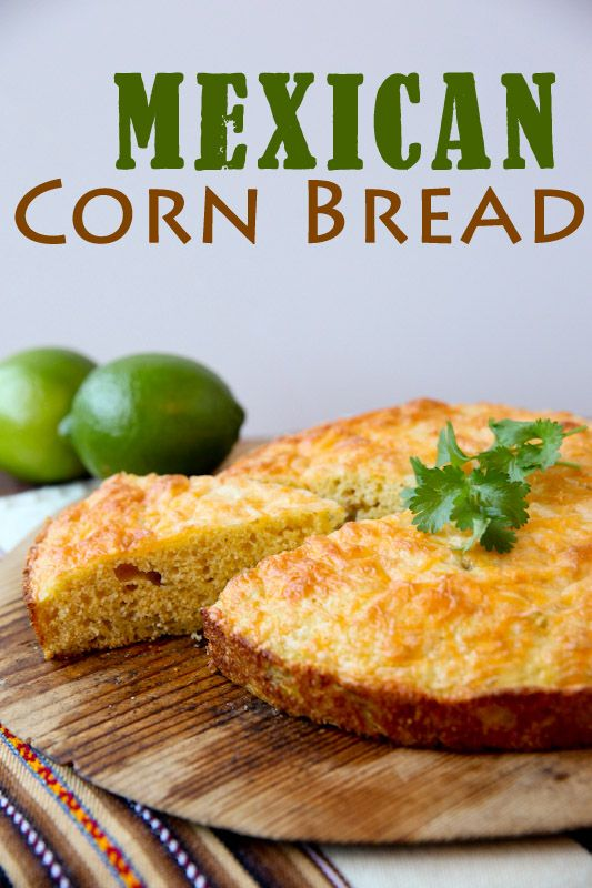 Easy cheesy Mexican cornbread | food for us | Pinterest