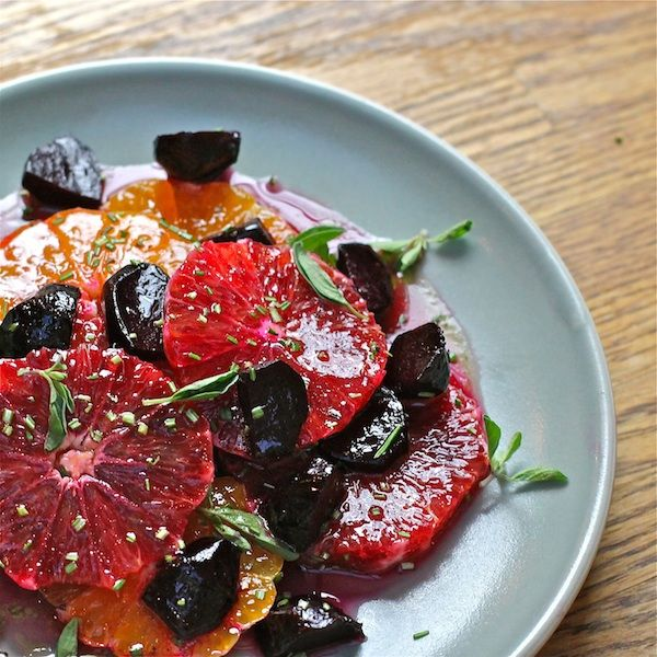 Winter Citrus Salad with with Maple-Orange Vinaigrette | Recipe