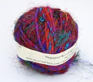 Image of The Original! DGY's Fair Trade Premium Recycled Sari Silk Yarn