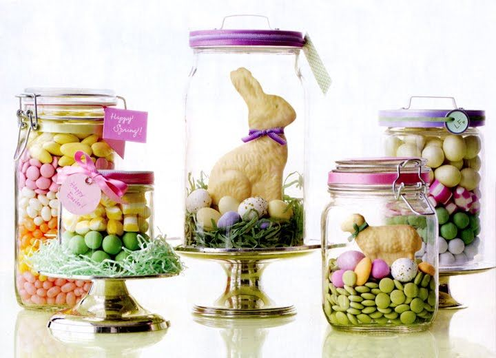 Easter Gift Jars