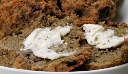 Cherry-Ginger Drop Scones #Vegan | Breakfast Recipes | Pinterest