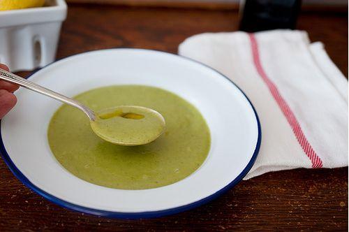 Cold Broccoli Soup - Unsandwich | Eat | Pinterest