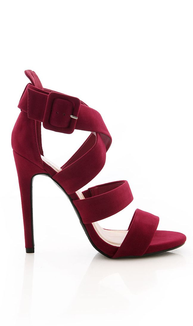 burgundy heels clothes shoes