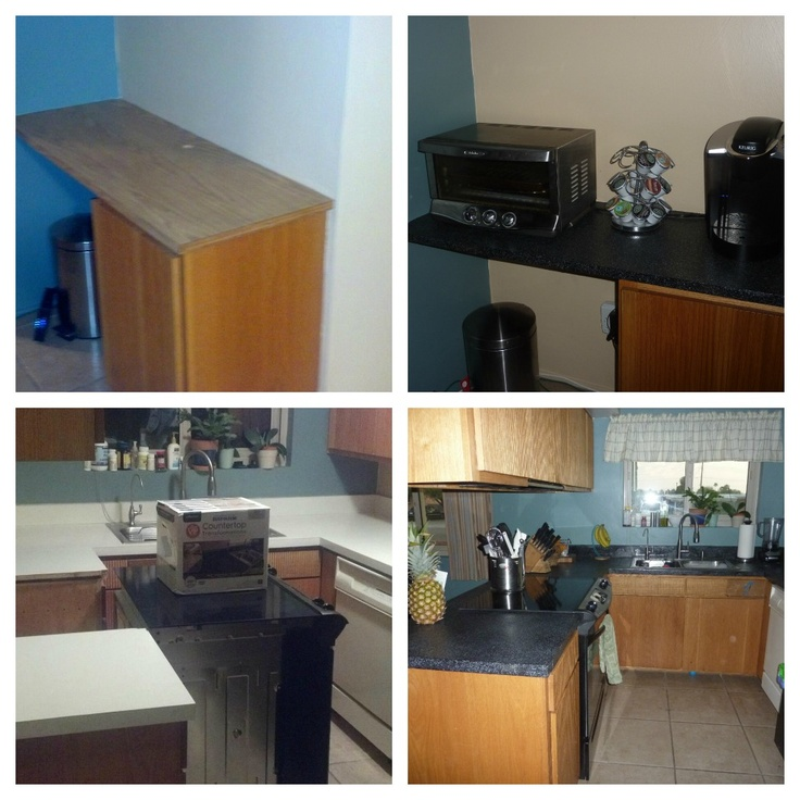 Countertop Kit Lowes : Rustoleum countertop transformations. You can get this kit at Lowes or ...
