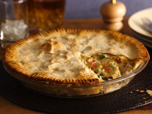 Easy Chicken Pot Pie | Cooking | Pinterest