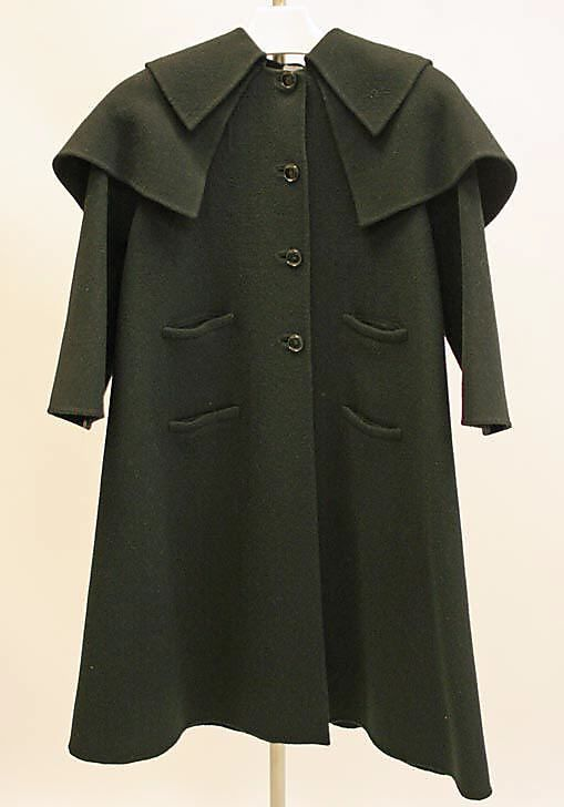 Madame Grès (Alix Barton) (French, Paris 1903–1993) Amazingly, this coat is circa 1975...