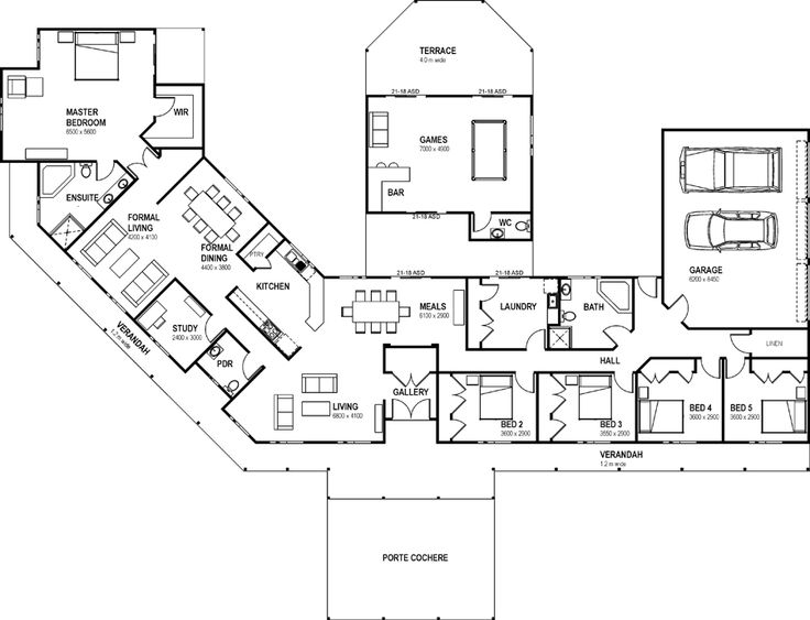 Pin by cate deans on what i really want pinterest for Self contained house plans