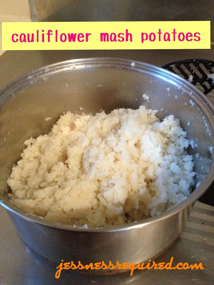 "Cauliflower Mashed ""Potatoes"" Recipe — Dishmaps"
