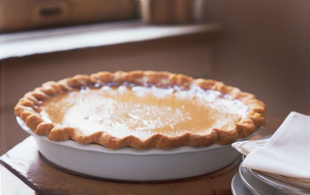 Maple Buttermilk Pie: I might try this Amish pie for a change this ...