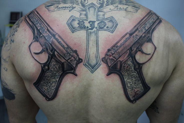 Boondock saints guns ink pinterest for Boondock saints veritas aequitas tattoos