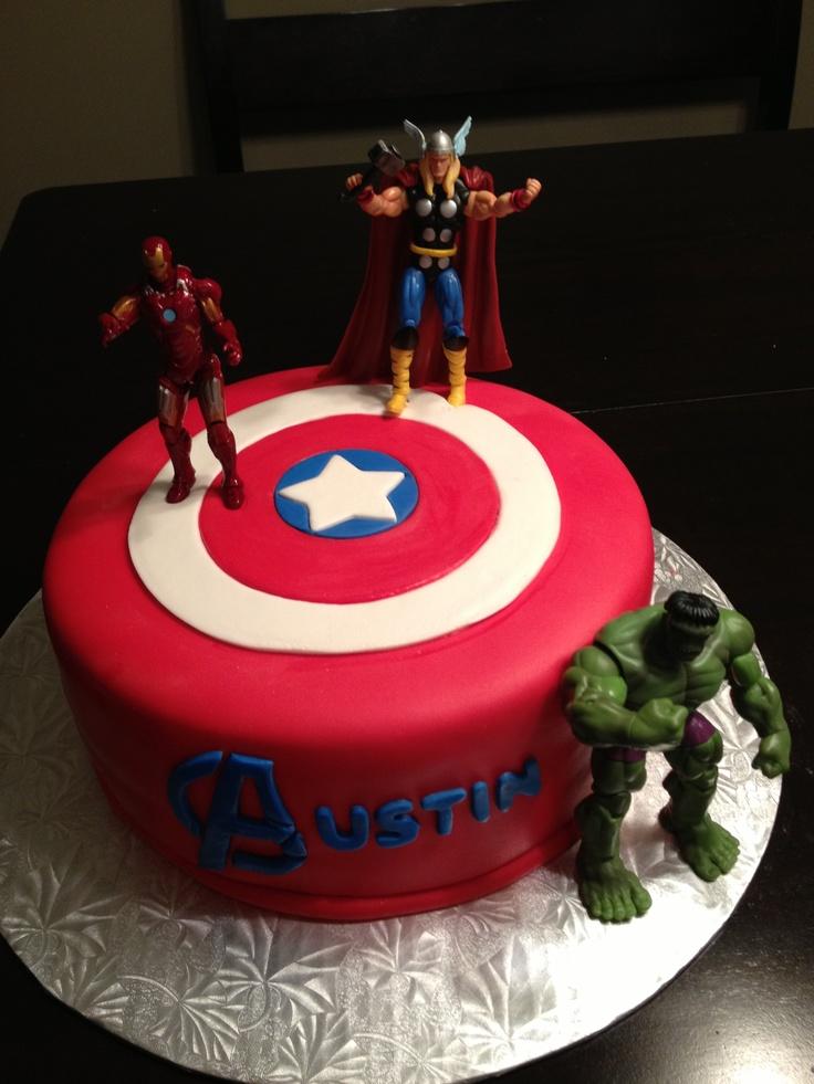 Avengers austin s th birthday cake pinterest