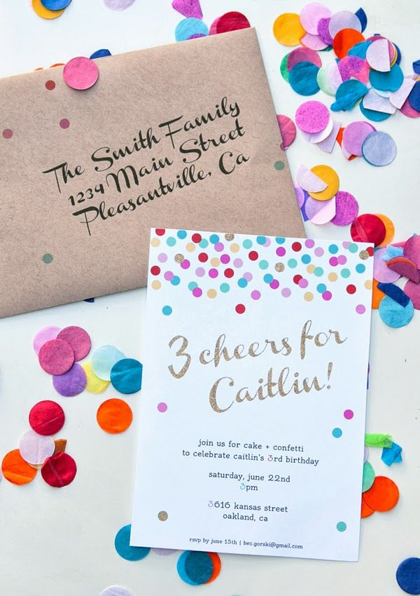 Cake Decorating Birthday Party Invitations : Pinterest: Discover and save creative ideas