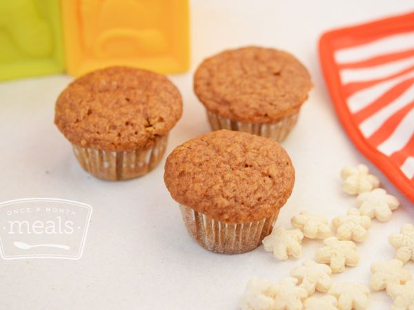 Mini Sweet Potato Muffins | Once A Month Meals | Freezer Cooking ...