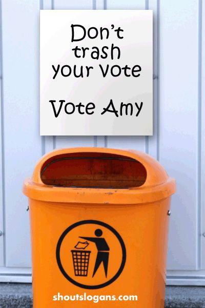 Campaign poster slogans