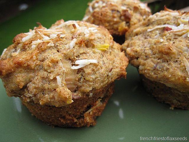 Rhubarb Mango Coconut Muffins   Muffins!   Pinterest