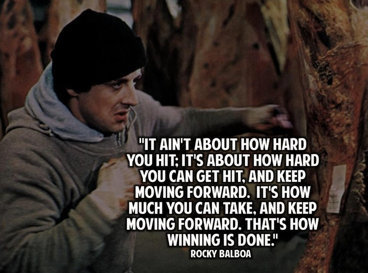 rocky balboa quotes and inspirational stuff pinterest