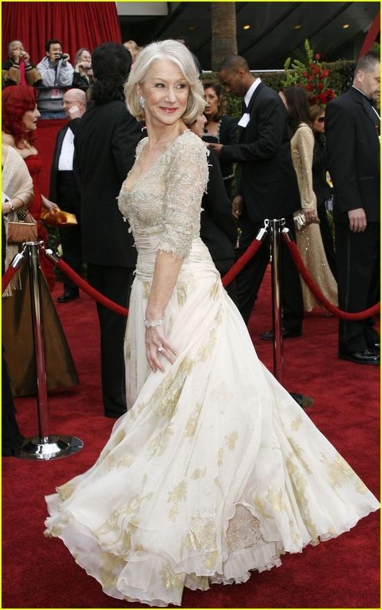 Helen mirren in beautiful dress aging gracefully pinterest for Helen miller wedding dresses