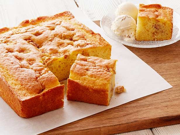 My Sister Maria's Easy Apple Cake and Ice Cream Recipe : Rachael Ray ...