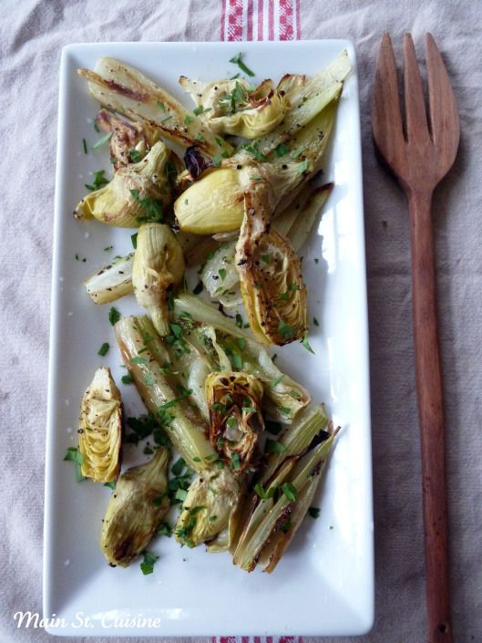 roasted fennel and artichoke hearts | nightshade-free noms | Pinterest
