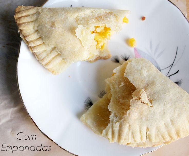 Corn and Feta Empanadas | (Recipes) Mexican - baking, oven | Pinterest